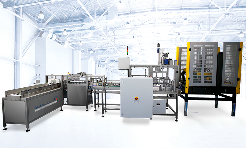 Relentless Complete Form Fill and Seal Case Packer Shemesh Automation